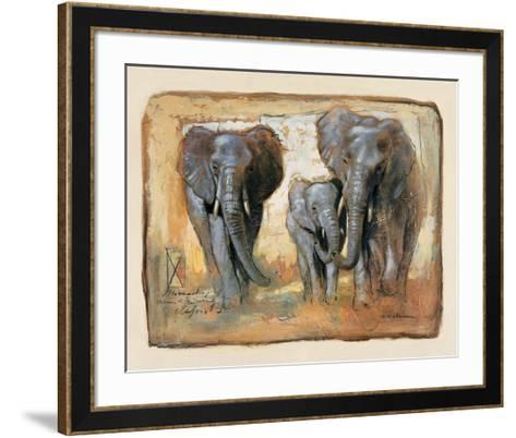 Tenderness-Joadoor-Framed Art Print