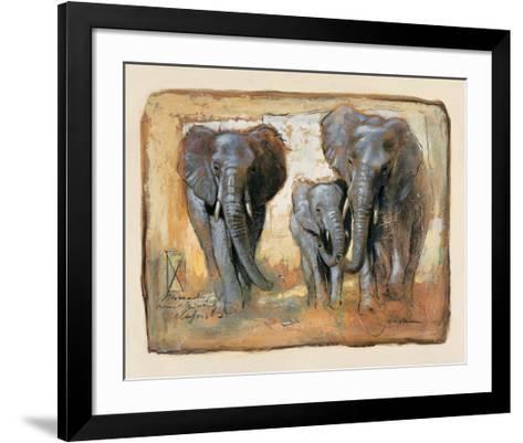 Tenderness-Joadoor-Framed Art Print