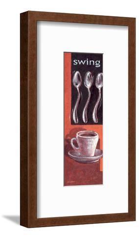 Swing-Bjoern Baar-Framed Art Print