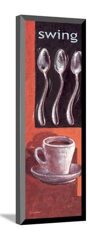 Swing-Bjoern Baar-Mounted Art Print