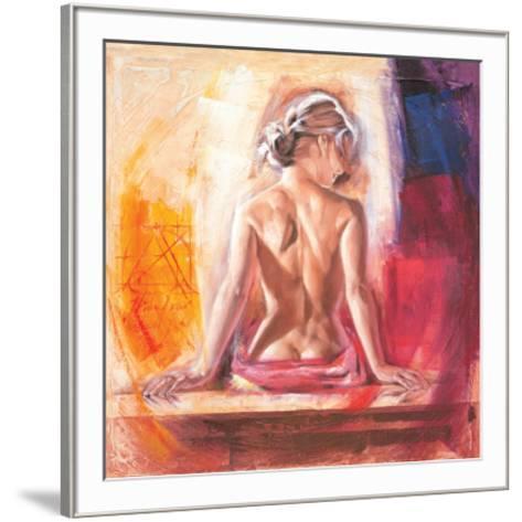 Tamara-Talantbek Chekirov-Framed Art Print