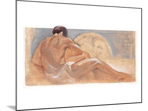 the Rest-Talantbek Chekirov-Mounted Premium Giclee Print