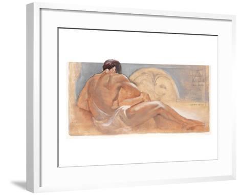 the Rest-Talantbek Chekirov-Framed Art Print
