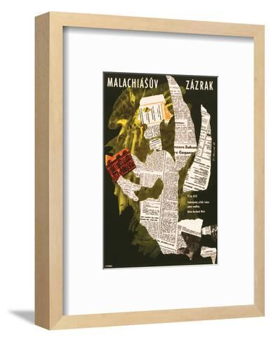 The Miracle of Father Malachia--Framed Art Print