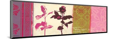 Two Roses-Anna Flores-Mounted Art Print