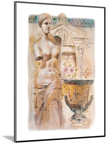 Venus-Joadoor-Mounted Art Print