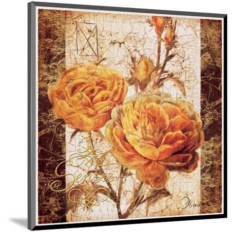 Yellow Senses-Joadoor-Mounted Art Print