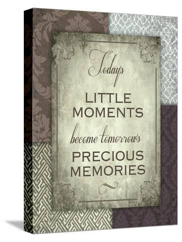 Moments and Memories-Melody Hogan-Stretched Canvas Print