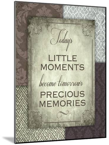 Moments and Memories-Melody Hogan-Mounted Art Print