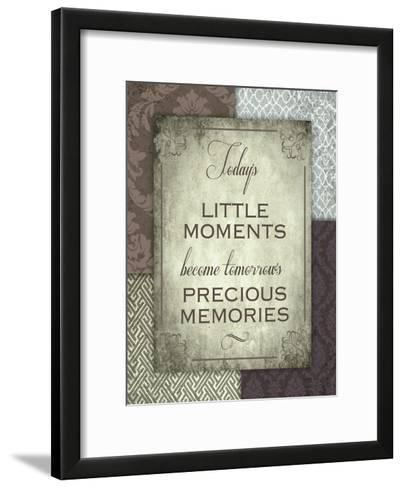 Moments and Memories-Melody Hogan-Framed Art Print