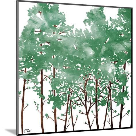 Watered Trees-OnRei-Mounted Art Print