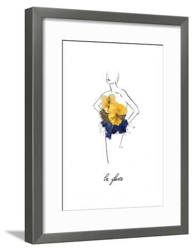 Floral Fashion-Victoria Brown-Framed Art Print