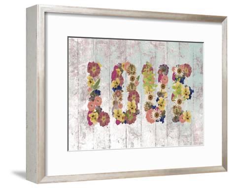 Love 2-Victoria Brown-Framed Art Print