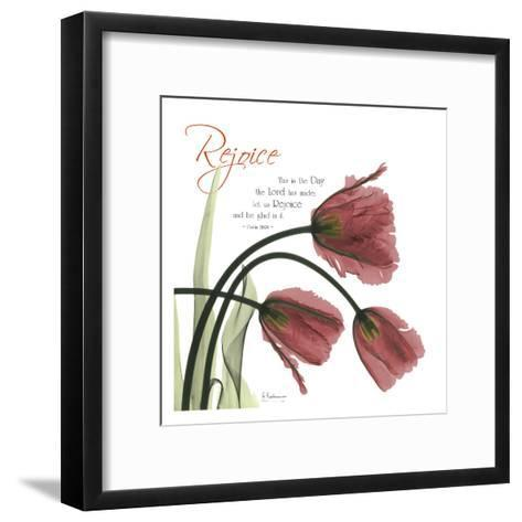 Rejoicing Tulips-Albert Koetsier-Framed Art Print