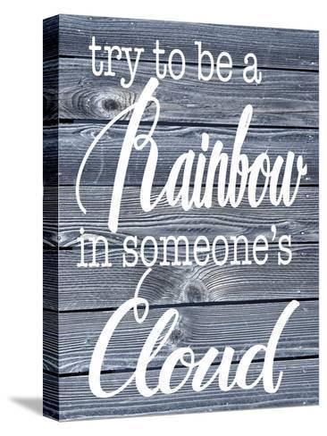 Rainbow Cloud-Melody Hogan-Stretched Canvas Print