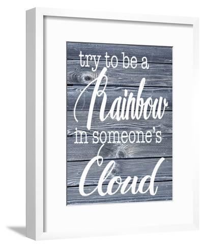Rainbow Cloud-Melody Hogan-Framed Art Print