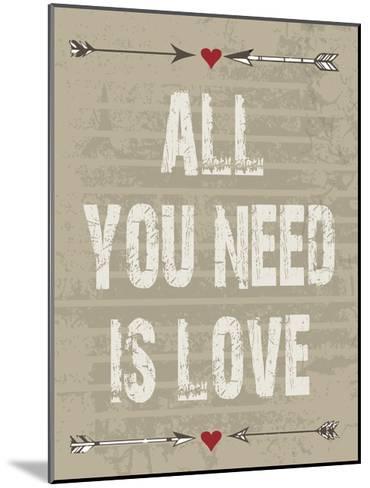 All Love-Melody Hogan-Mounted Art Print