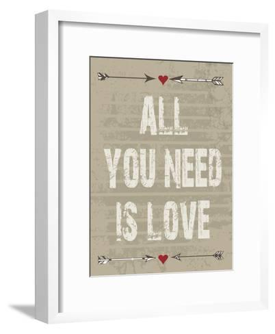 All Love-Melody Hogan-Framed Art Print