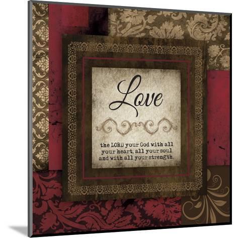 Love Red-Melody Hogan-Mounted Art Print