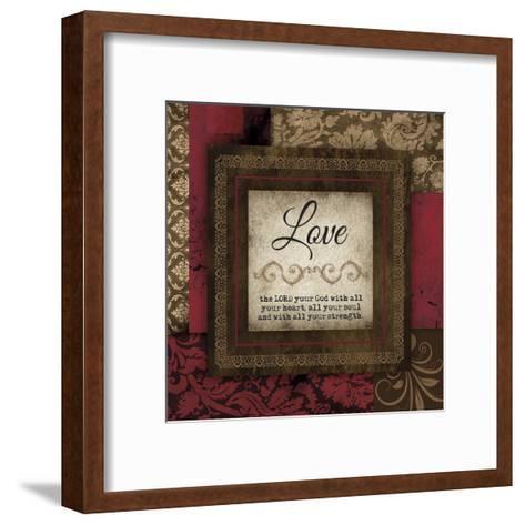 Love Red-Melody Hogan-Framed Art Print