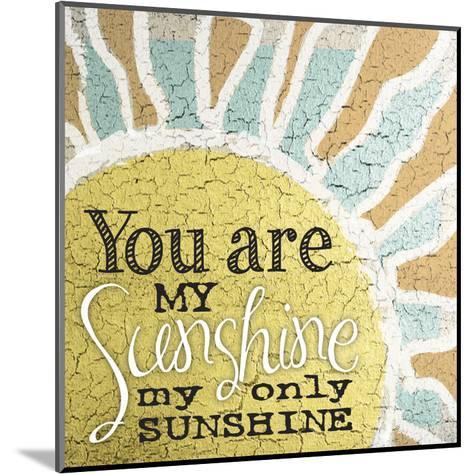 My Only Sunshine 1-Melody Hogan-Mounted Art Print