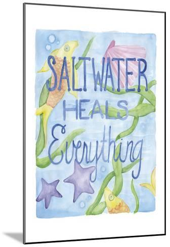 Saltwater Heals-Pam Varacek-Mounted Art Print