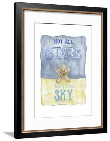 Not All Stars-Pam Varacek-Framed Art Print