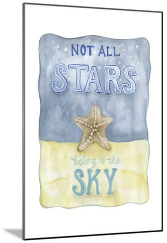 Not All Stars-Pam Varacek-Mounted Art Print
