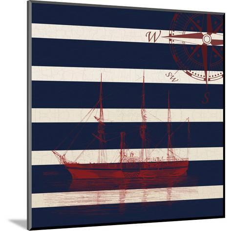 Lone Ship-Sheldon Lewis-Mounted Art Print