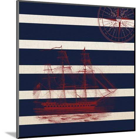Way Beyond The Pacific-Sheldon Lewis-Mounted Art Print