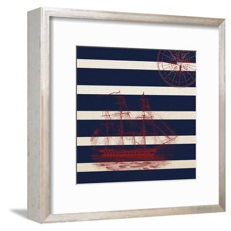 Way Beyond The Pacific-Sheldon Lewis-Framed Art Print