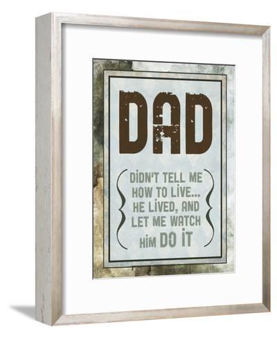 Fathers Day 2-Melody Hogan-Framed Art Print