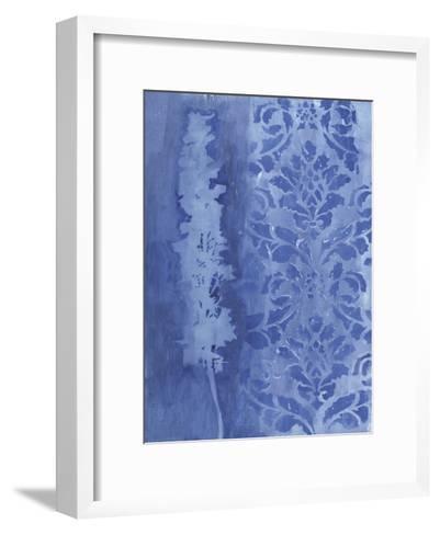 Blue Damask Delphinium-Smith Haynes-Framed Art Print