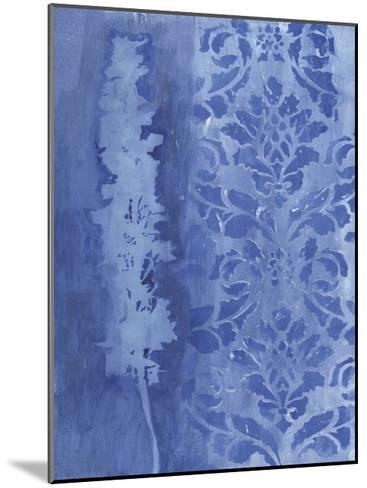 Blue Damask Delphinium-Smith Haynes-Mounted Art Print