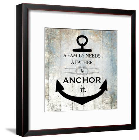 Fatherday 1-Victoria Brown-Framed Art Print