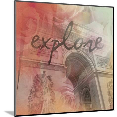 Triumph Explore-Victoria Brown-Mounted Art Print