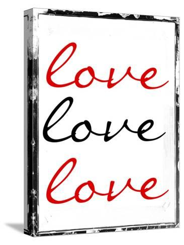 Love Love Love-Sheldon Lewis-Stretched Canvas Print