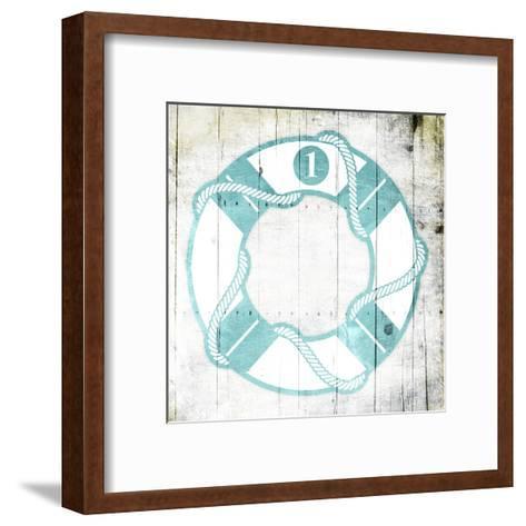 Number One Lifesaver-Jace Grey-Framed Art Print