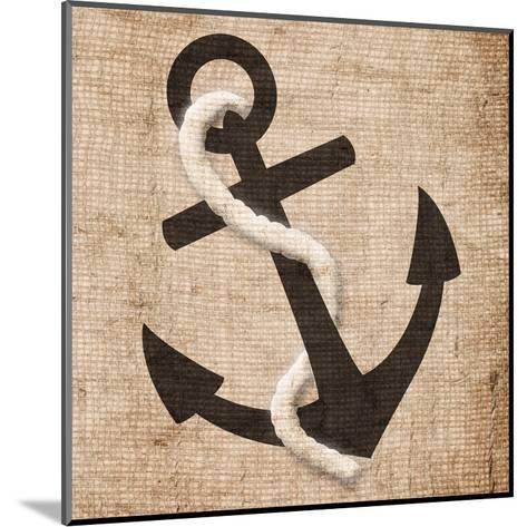 Rope Anchor-Jace Grey-Mounted Art Print