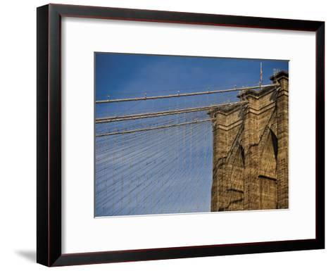 Brooklyn Bridge-Joseph Rowland-Framed Art Print