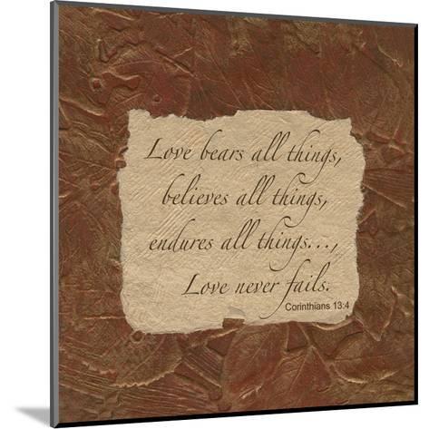 Corinthian Love-Smith Haynes-Mounted Art Print