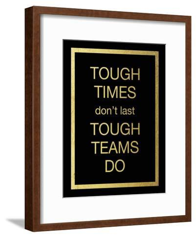 Tough Team-Victoria Brown-Framed Art Print