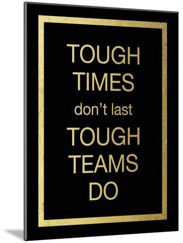 Tough Team-Victoria Brown-Mounted Art Print