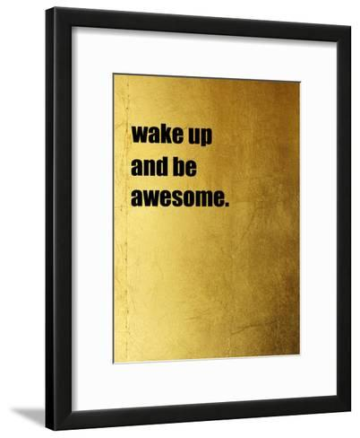 Wake Up-Victoria Brown-Framed Art Print