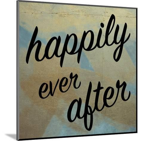 Happy Ever After-Victoria Brown-Mounted Art Print