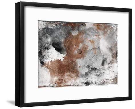 Coffee Abstract-Jace Grey-Framed Art Print