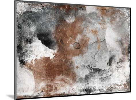 Coffee Abstract-Jace Grey-Mounted Art Print