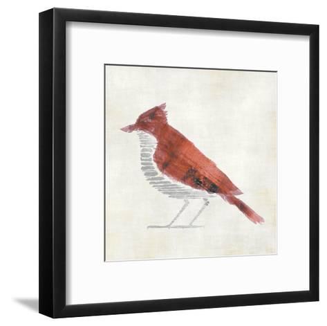 The Red Birdy-Kristin Emery-Framed Art Print