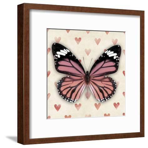 Pink Butterfly--Framed Art Print