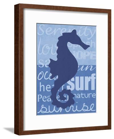 Beach Horse-Lauren Gibbons-Framed Art Print